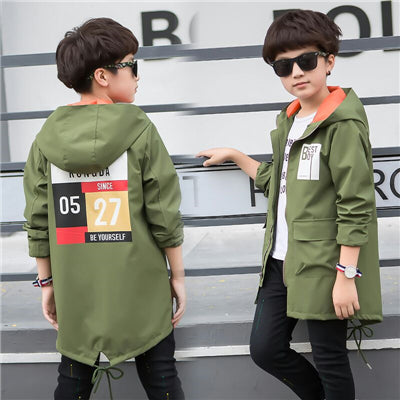 2017 new children's clothing spring boy jacket children's windbreaker in