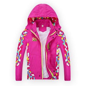 2017 New Kids Spring Winter Bomber Jacket For Girls/Boys