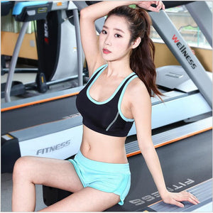 2018 New Pattern Women Yoga Set Fitness Gym Running Sport Suit ,
