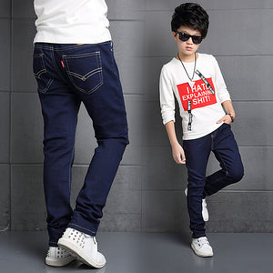 2018 Autumn Sold Kids Boys Jeans Trousers Clothes Casual Cotton