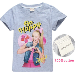 2018 New Summer children clothes T shirts4-10Y