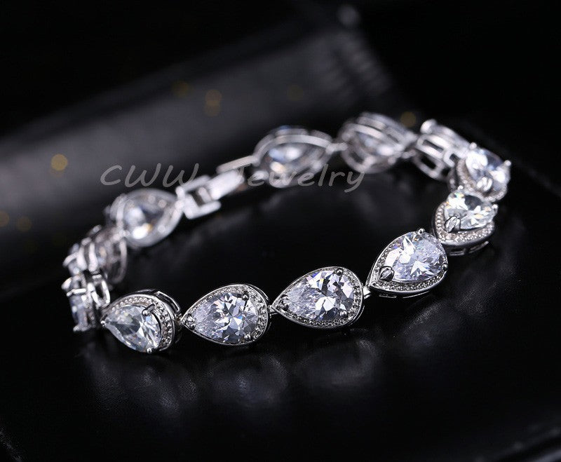 2018 Fashion Womens Luxury Stone Bracelet