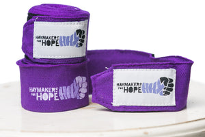 H4H Custom Purple Handwraps