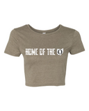 """Home of the O"" Crop Tee (6681)"
