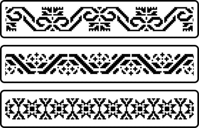 Mexican Embroidery Border Set (pre-order)