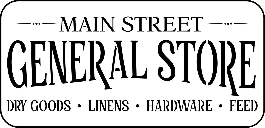 PRE-ORDER - Main Street Sign