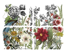 Load image into Gallery viewer, Midnight Garden 12x16 Decor Transfer Pad