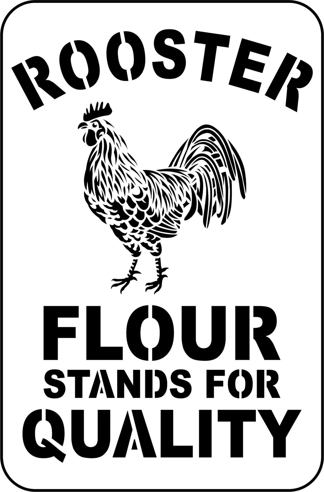 PRE-ORDER - Rooster Flour