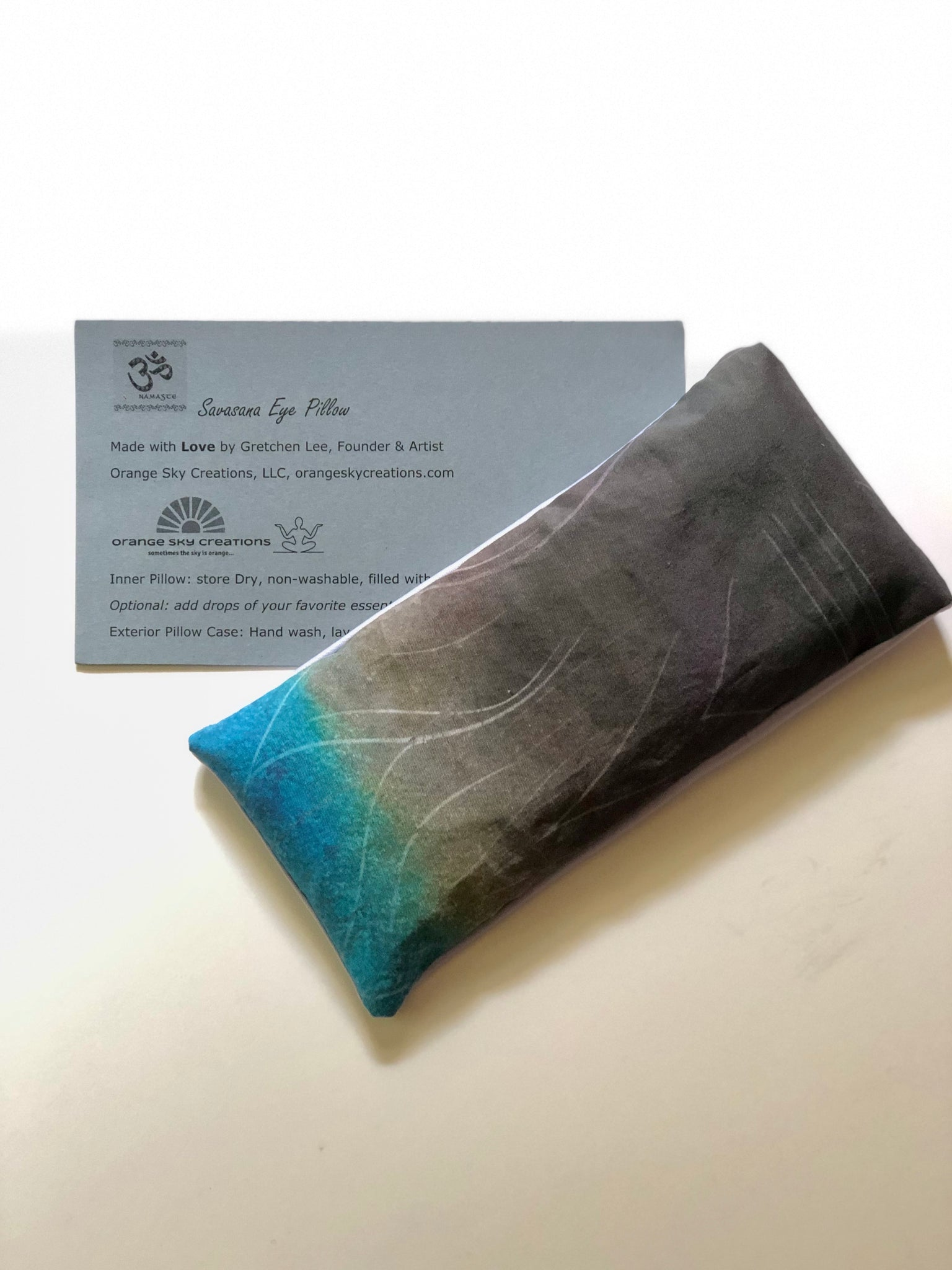 Be Graceful ~ Savasana Eye Pillow
