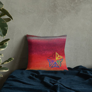 ROC Pride ~ Toss Pillow
