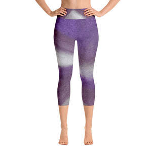 Be Calm ~ Active Capri Leggings
