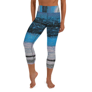 Be Optimistic ~ Yoga Capri Leggings