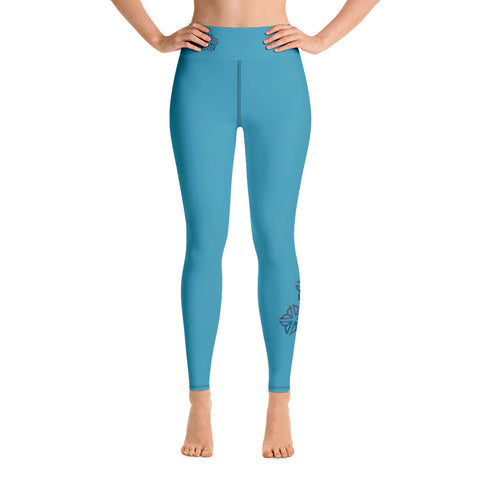 Be Cool ROC Blue ~ Yoga Leggings