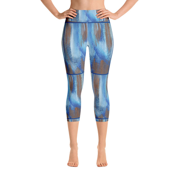 Be Exotic ~ Yoga Capri Leggings