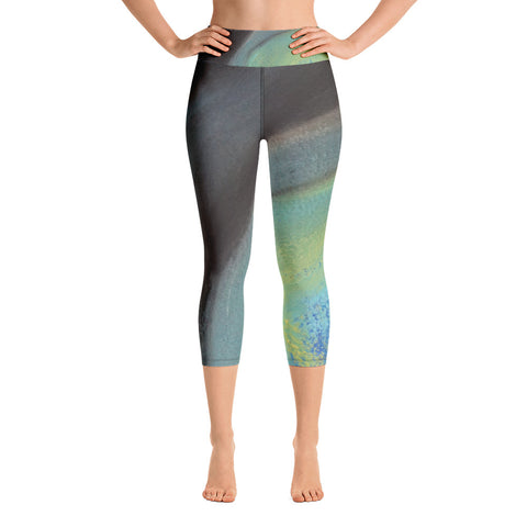 Be Curious ~ Active Capri Leggings