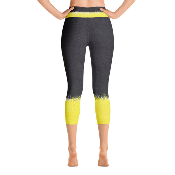 See the Light ~ Yoga Capri Leggings