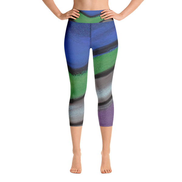 Take Up Space ~ Yoga Capri Leggings