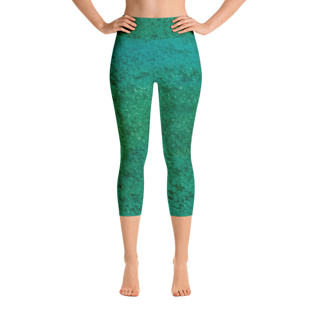 Be Green ~ Active Capri Leggings