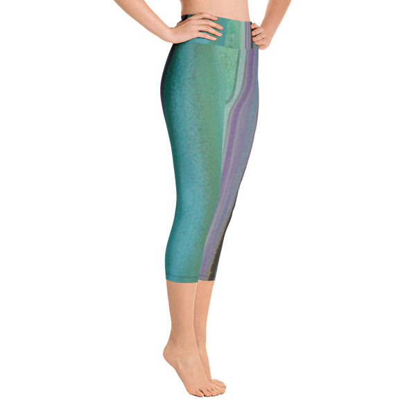 Be Peaceful ~ Active Capri Leggings