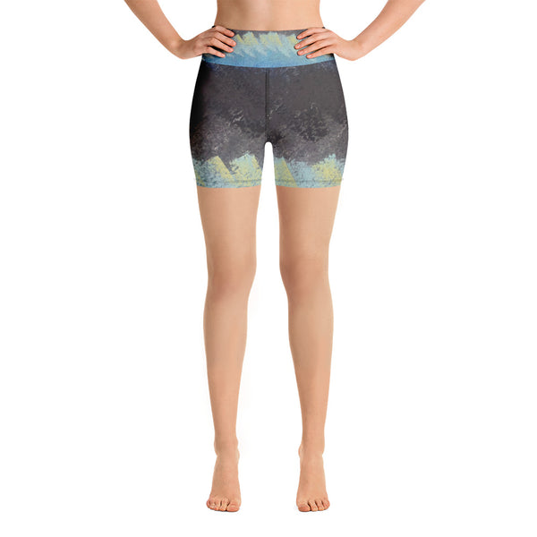 Find Your Flat Road ~ Yoga Shorts