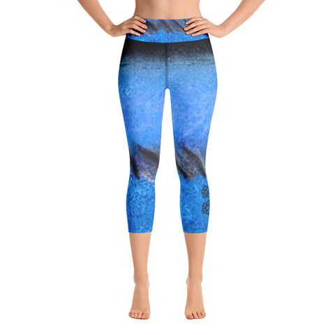 Be Reflective ROC ~ Yoga Capri Leggings