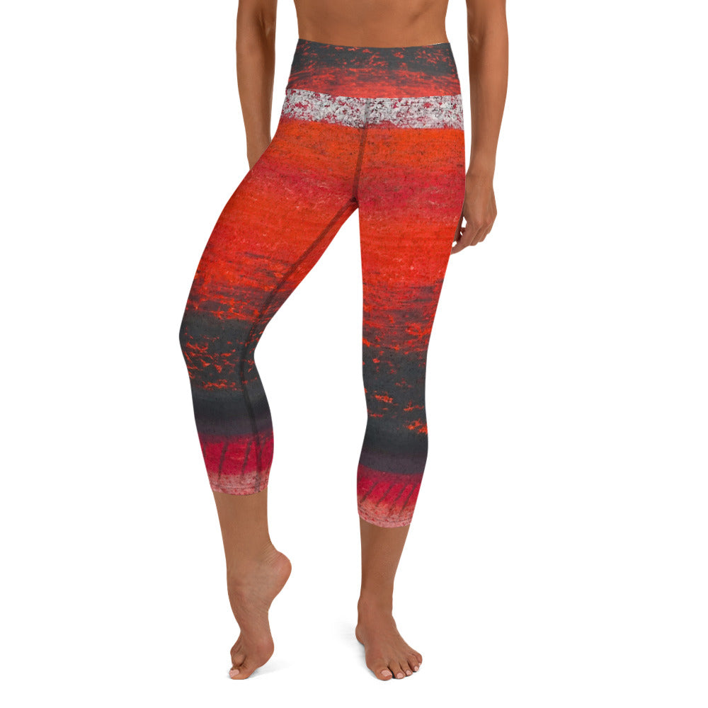 Be Fierce ~ Yoga Capri Leggings