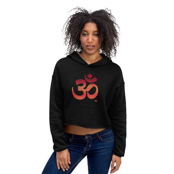 OM Be Inspired ~ Cropped Hoodie