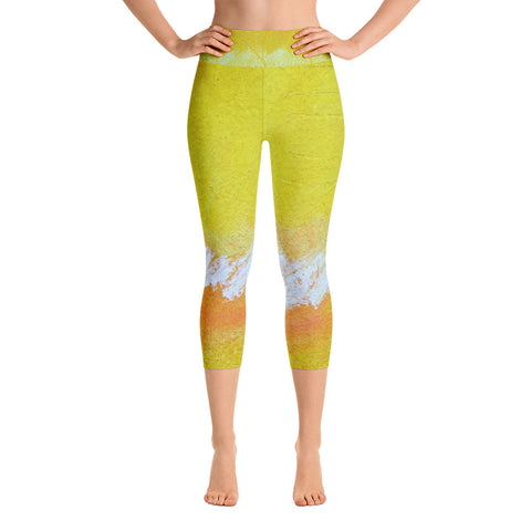 Be The Sun ~ Yoga Capri Leggings