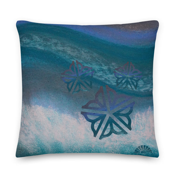 "Be in the Flow ROC ~ Decorative Toss Pillow (22x22"")"