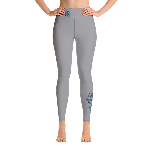 Be Cool ROC Grey ~ Yoga Leggings