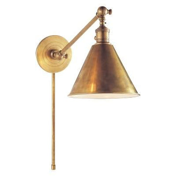 Visual Comfort Boston Single Arm Library Light