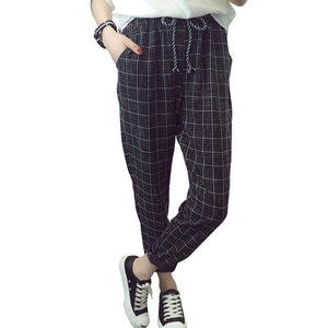 England Style Harem Pants With Pocket