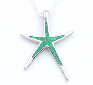Starfish Opal Necklace