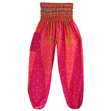 Beach Bohemian Harem Pants Plus Size