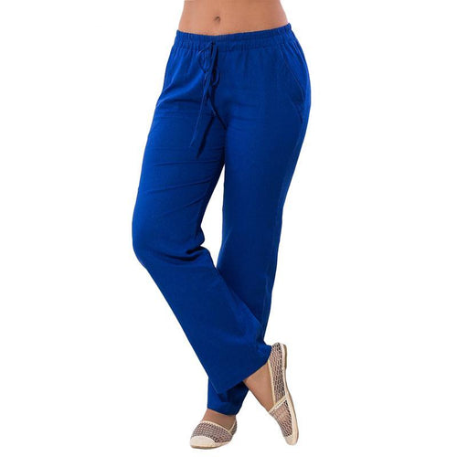 Chic Elastic & Casual Harem Pants Plus Size 5XL 6XL