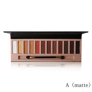 12 Colors Shimmer & Matte Eyeshadow Palette