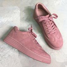 Leather Fashion Platform Sneakers
