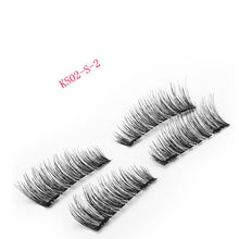 4pcs Easy To Wear 3D Eyelashes on the Magnet Extension kit