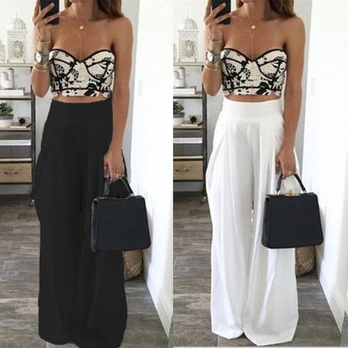 Wide Leg Harem Pants