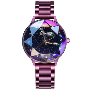 Crystal Metallic Women's Watch