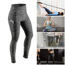 Tummy Control Workout Leggings with Pocket