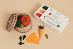 Make your own homegrown Felt Veggie feast!