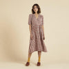 Organic Cotton Tea Dress - Cacolac Check Big