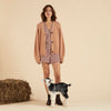 Organic Cotton Karoo Cardigan - Clay