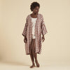 Organic Cotton Kaya Robe - Cacolac Check Big