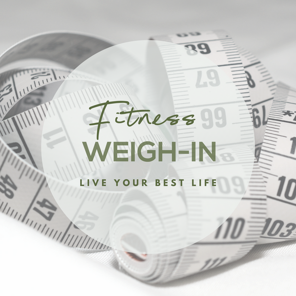 Weigh-in with Symonds Fitness