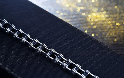 Image of Stainless Stell Bicycle Chain Bracelet (Div. Model)