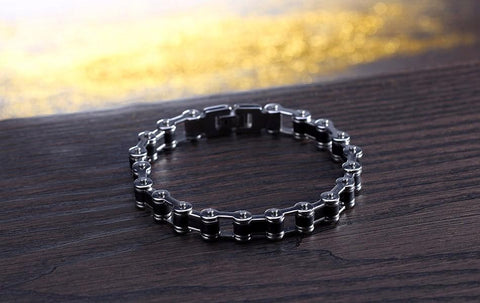 Stainless Stell Bicycle Chain Bracelet (Div. Model)