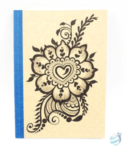 Henna Tattoo Inspired Notebook: CHN008