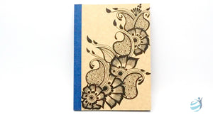 Henna Tattoo Inspired Notebook: CHN002